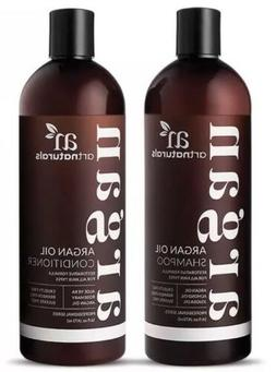 Art Naturals Organic Moroccan Argan Oil Shampoo and Conditio