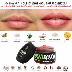 Bella Vita Organic NicoLips Scrub Gel Balm for Lightening &