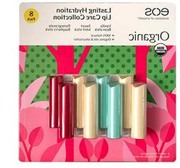 EOS Organic Smooth Lip Balm Lasting Hydration Collection, 8