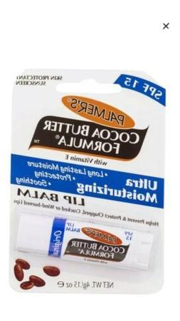 Palmer's Cocoa Butter Formula Lip Balm 0.15 oz - NEW 2 Pack
