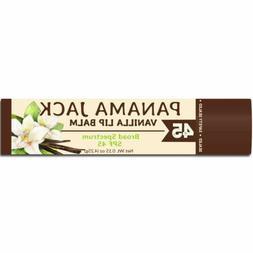 Panama Jack SPF 45 Sunscreen Vanilla Lip Balm, Broad Spectru
