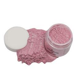 Slice of the Moon: Peach Blow Mica Powder 1oz, Metallic Pink