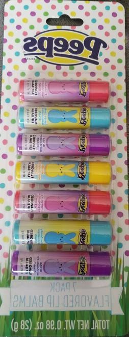 Peeps 7 Piece lip balm set~YUMMY AND CUTE!