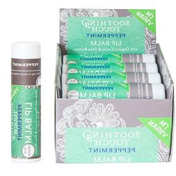 Soothing Touch Peppermint Vegan Lip Balm , .25 oz