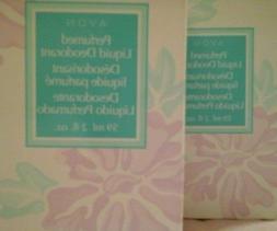 AVON Perfumed Liquid Deodorant 2 fl. oz.- TWO!