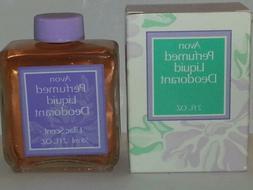 Avon Perfumed Liquid Deodorant Lilac Scent 2 fl.oz