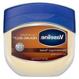 Vaseline Petroleum Jelly HEALING JELLY Cocoa Butter 7.5 Oz B