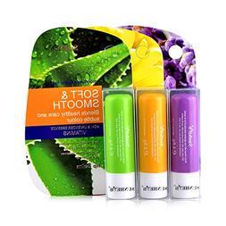 Sunherb Pure natural plant moisturizing lip balm 3 Pack –-