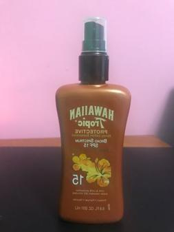 Hawaiian Tropic Protective  Spray Lotion Sunscreen - SPF 15