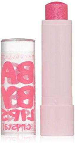 Maybelline New York Baby Lips Crystal Lip Balm, Pink Quartz,