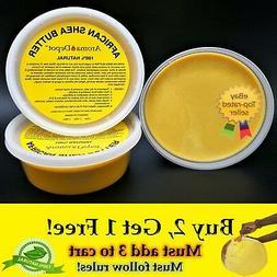 Organic African Shea Butter 8oz YELLOW From Ghana Natural UN