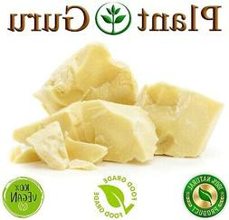 Raw Cocoa Butter 100% Pure Unrefined Organic FOOD GRADE Caca