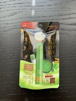 ROHTO MENTHOLATUM Melty Cream Lip Balm GREEN TEA MATCHA From