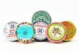 Rosebud Lip Balm Salve Tin choose your flavor