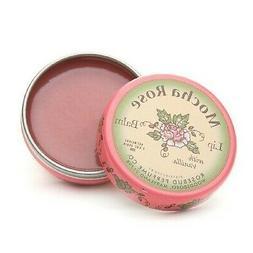 Rosebud Perfume Co. Mocha Rose Lip Balm 0.8 oz  New