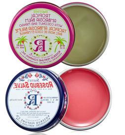 Rosebud Salve Two Pack: Rosebud Salve and Tropical Ambrosia