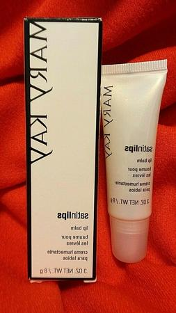 Mary Kay Satin Lips LIP BALM, Full Size 0.3 oz., New in Box