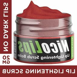 NicoLips Scrub Gel Balm for Lightening Dark Lips  DELIVERY I