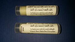 Shea Butter Coconut Lip Balm by Peau de Luxe Skin Care.