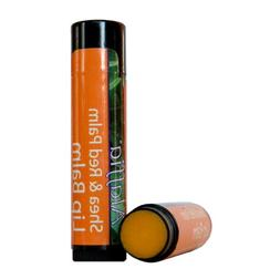 Shea & Red Palm Lip Balm Tangerine Oil-Ground Clove 0.15 oz