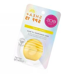 ⭐ eos Shea + SPF Sphere Lip Balm - Lemon Twist | SPF 15 an