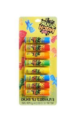Sour Patch Kids Flavored Lip Balm Set 8 Pack NIP