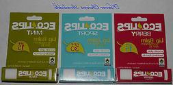 Eco Lips SPF 15 or SPF 30 Hydrating Lip Balm .15 oz **flavor