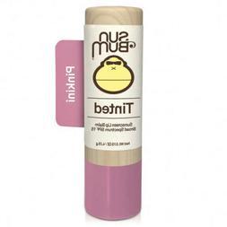 Sun Bum SPF 15 Tinted Lip Balm - Pinktini - Pack of 4 - 20-4