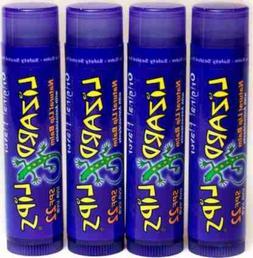 Lizard Lips SPF 22 Lip Balm - Original Vanilla 4 Pack 4