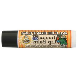 Aloe Gator SPF 30 Moisturizing Lip Balm, Tropical
