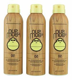 Sun Bum SPF 50 Sunscreen Spray 3 ct 6 oz. Sealed Fresh