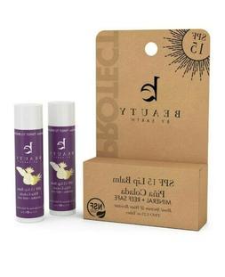 SPF Lip Balm SPF 15 Reef Safe Lip Sunscreen, Natural & Organ