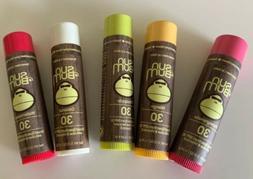 SUN BUM SPF30 Lip Balm PICK 3  Vitamin E & Aloe Full Size, S
