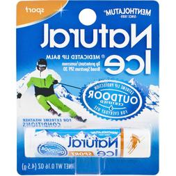 Natural Ice Sport - SPF 30 lip balm in Pack of 12 , Flavor
