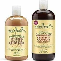 Shea Moisture Strengthen Grow & Restore Shampoo and Conditio