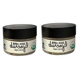Eco Lips LIP SUGAR SCRUB 2 Pack  100% Organic Lip Care Treat