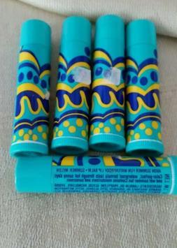 Avon summer fun waterproof lip balm in melon lot of 5