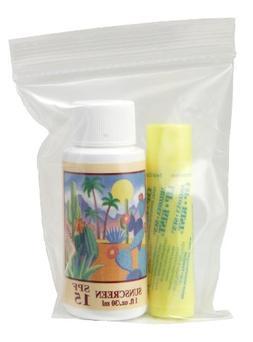 1oz. Sunscreen - Lip Kist -in Ziplock Bag - Sun Protection S
