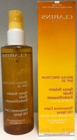 Clarins Sunscreen Care Oil Spray Broad Spectrum SPF 30 5 oz