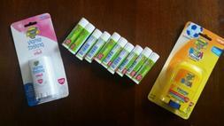 Sunscreen kids lot lip balm 34!