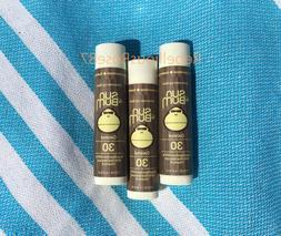 Sun Bum Sunscreen Lip Balm, 3 Pack - Coconut, SPF 30, Parabe