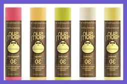 Sun Bum Sunscreen Lip Balm SPF 30 Variety Pack Coconut Pomeg