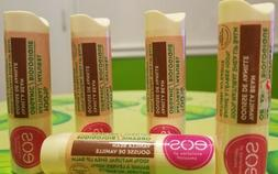 eos Super Soft Shea Lip Balm in Lot of 3 Cherry & Bright and
