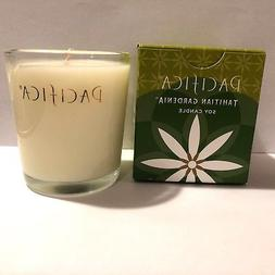 Pacifica TAHITIAN GARDENIA Scented Soy Candle 5.5 oz NIB NEW