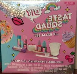 Taste Squad beauty DIY Lip Balm Set base flavor labels tubes