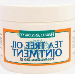 Herbal Authority Tea Tree Oil Ointment - 2 oz Ointment