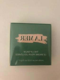 LA MER THE LIP BALM .32 oz/ 9 g  FULL SZ BNIB AUTH sealed EX