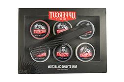Uppercut 6 Tin Men's Hairstyling Pomade Kit - Travel Sized S