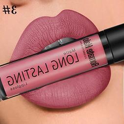 Lookatool 16 Colors Tint Lip Balm Matte Liquid Lipstick Make
