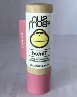 "Sun Bum Tinted Sunscreen Lip Balm ""Pinkini"" .15 oz NEW"